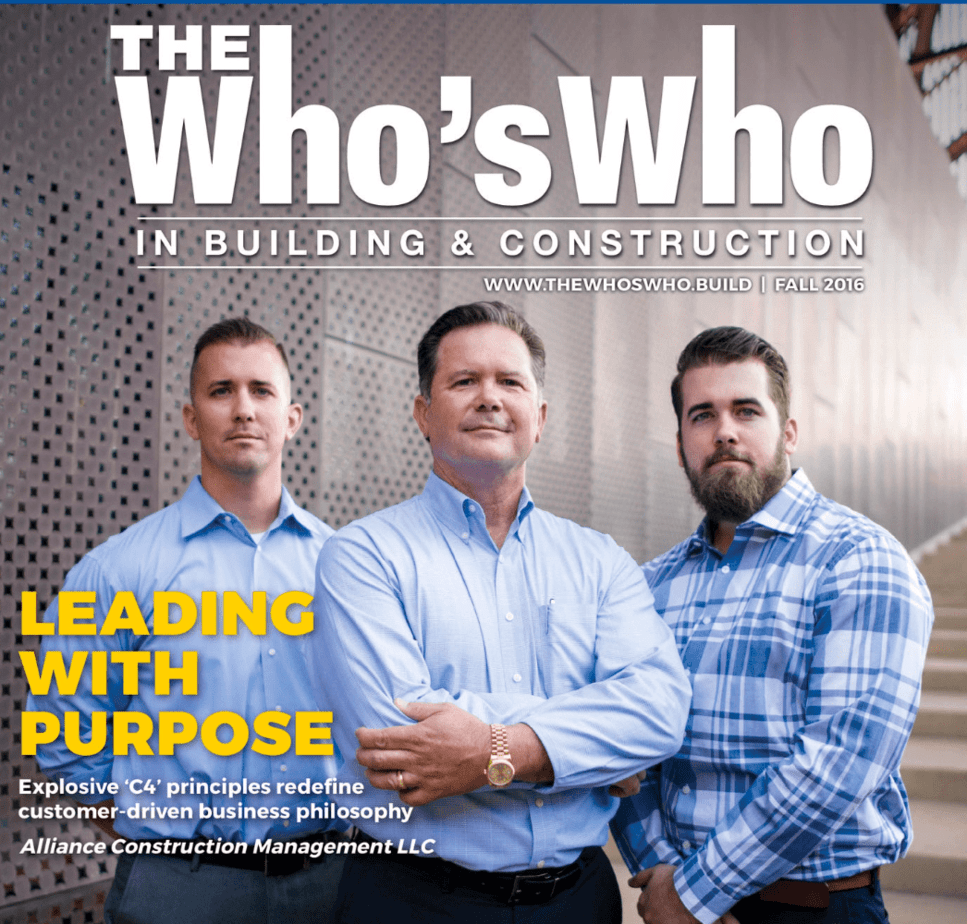 The Who's Who in Building & Construction Blue Book Magazine